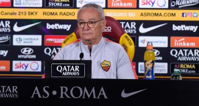 """Roma, Ranieri: """"Per la Champions ci siamo, mancano i gol di Dzeko"""""""