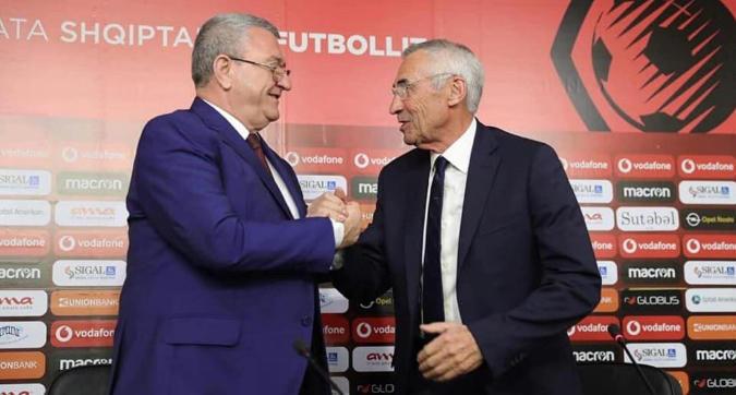 Albania, Edy Reja nuovo commissario tecnico della nazionale