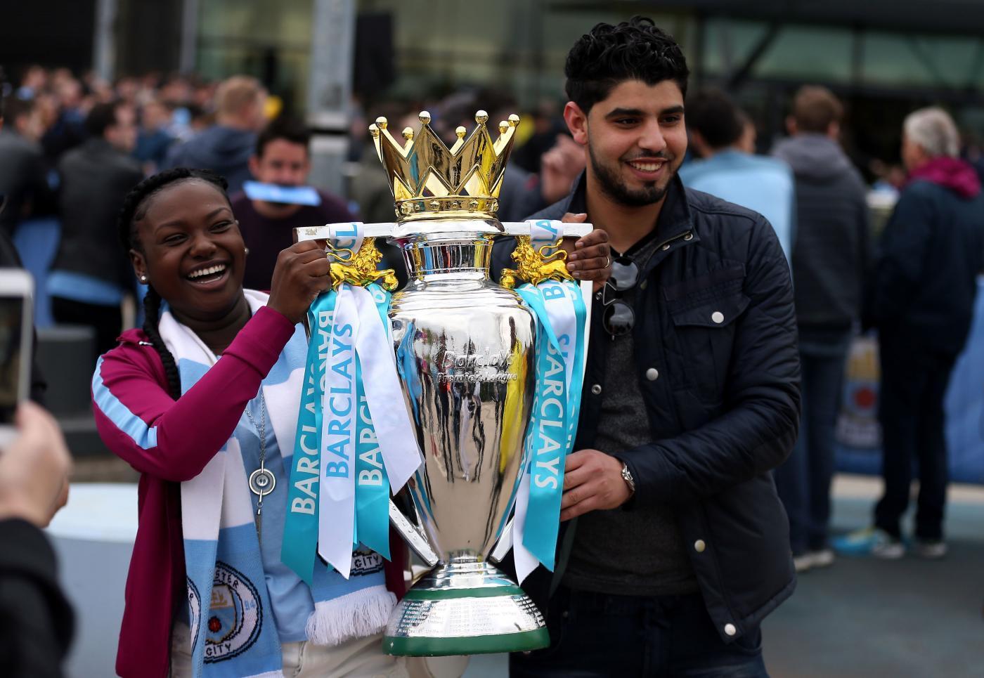 Premier: City campione, che festa all'Etihad