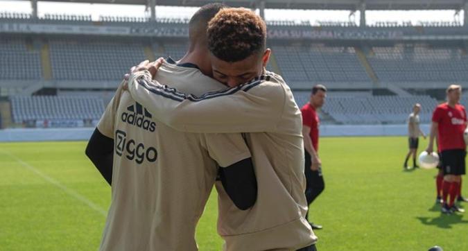 Ajax, allenamento nello stadio del Torino dopo l'impresa allo Stadium