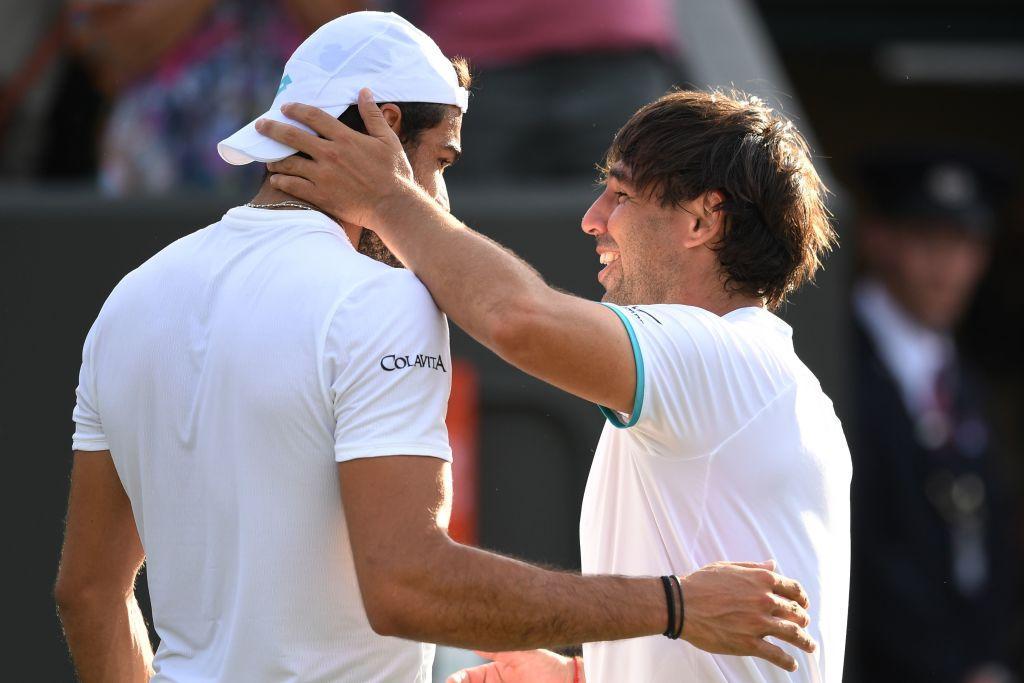 Wimbledon: Fognini e Berrettini al 3° turno, Baghdatis dà l'addio