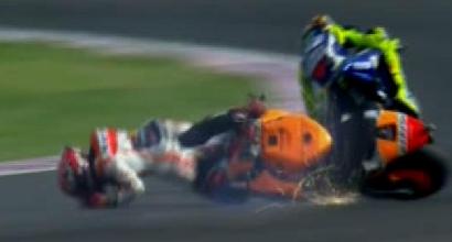 Marzquez e Rossi, foto IPP