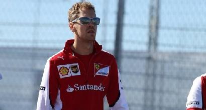 """Formula 1, Vettel: """"Ferrari competitiva, puntiamo al podio"""""""