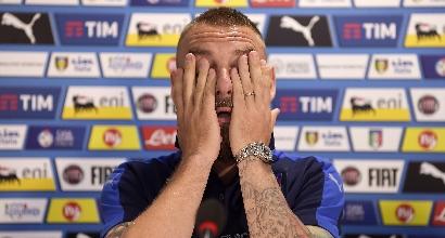 Italia, De Rossi allontana la Germania: ancora seduta a parte