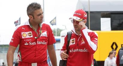 "Ferrari, Vettel: ""Rosberg-Hamilton? Niente di speciale"""