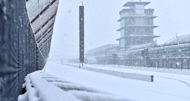 Indianapolis sotto la neve