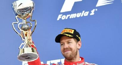 Ferrari: Vettel, dito medio a Massa all'ultimo giro