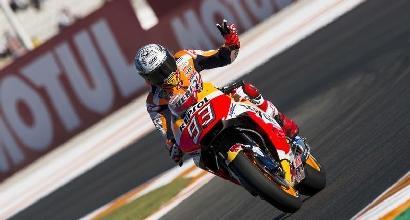 MotoGP, Marquez svetta nelle libere 3 di Valencia