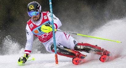 Slalom Wengen, vince Hirscher