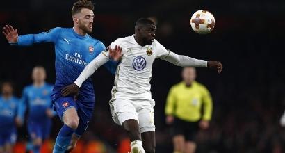 Arsenal, niente Aubameyang in Europa League contro il Milan: ecco perché