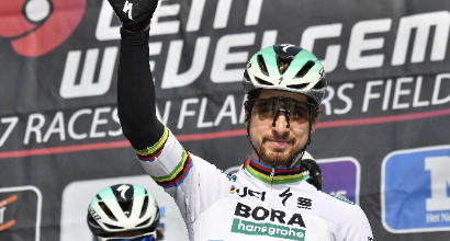 Gand-Wevelgem: trionfo di Sagan, secondo Viviani in lacrime