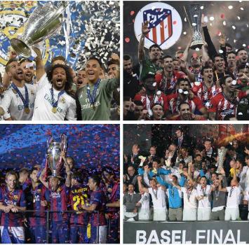 La Spagna domina l'Europa: dal 2014 18 trofei vinti su 19