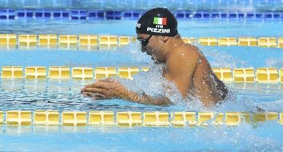 Nuoto, Europei: Pizzini bronzo nei 200 rana, bronzo anche per la staffetta azzurra nella 4x100 mista mista