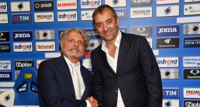 Giampaolo, Ferrero punge il Milan
