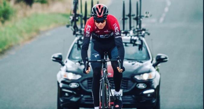 Froome, brutta caduta al Delfinato: non andrà al Tour de France