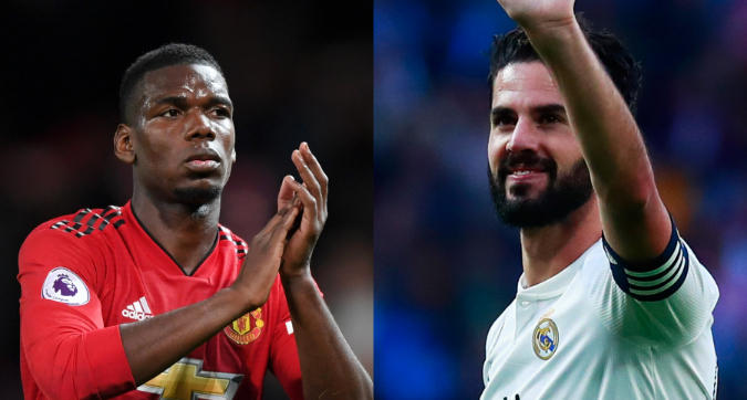 Real Madrid in pressing per Pogba: Florentino Perez pronto a inserire Isco come contropartita
