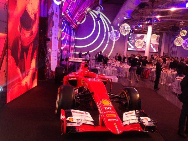Ferrari, festa di Natale a Maranello