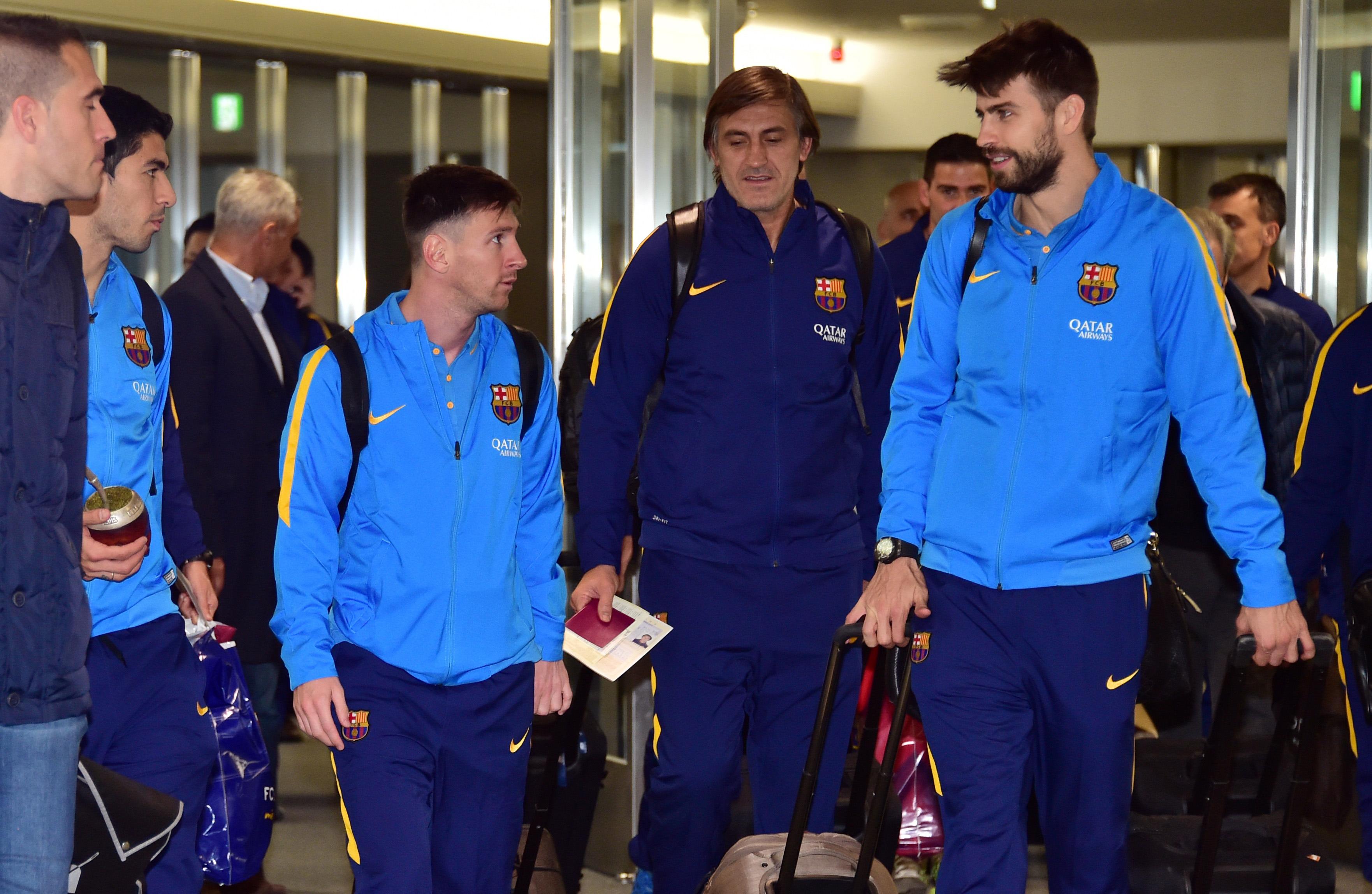 Il Barcellona è a Tokyo