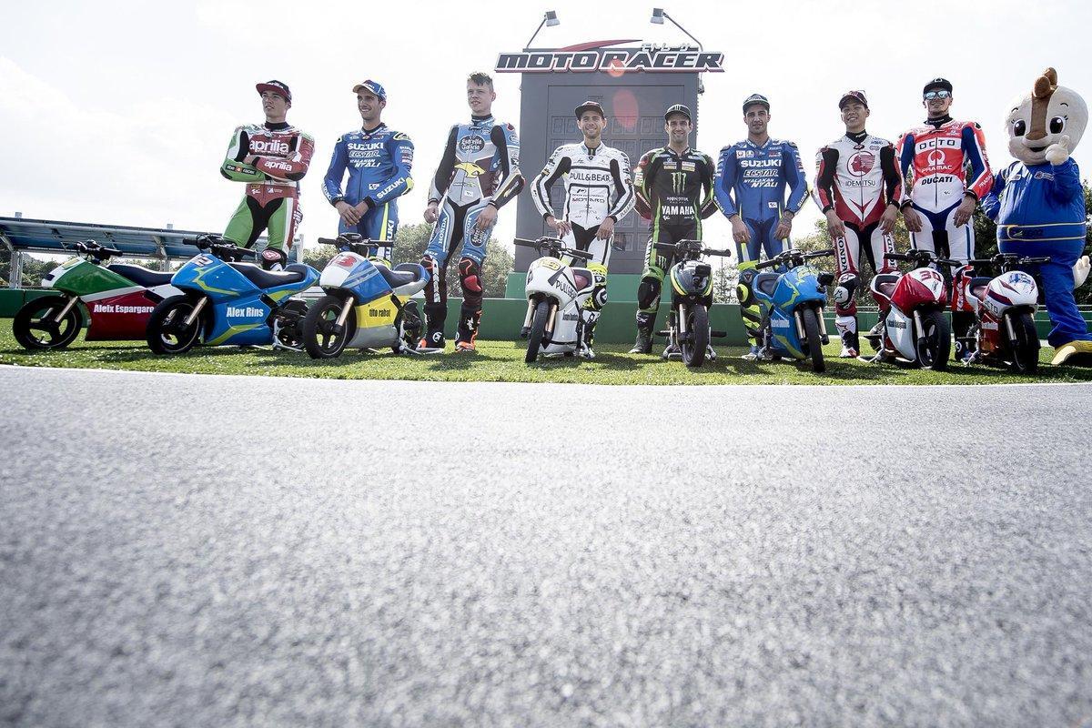 MotoGP, piloti in pista a Motegi con le minimoto