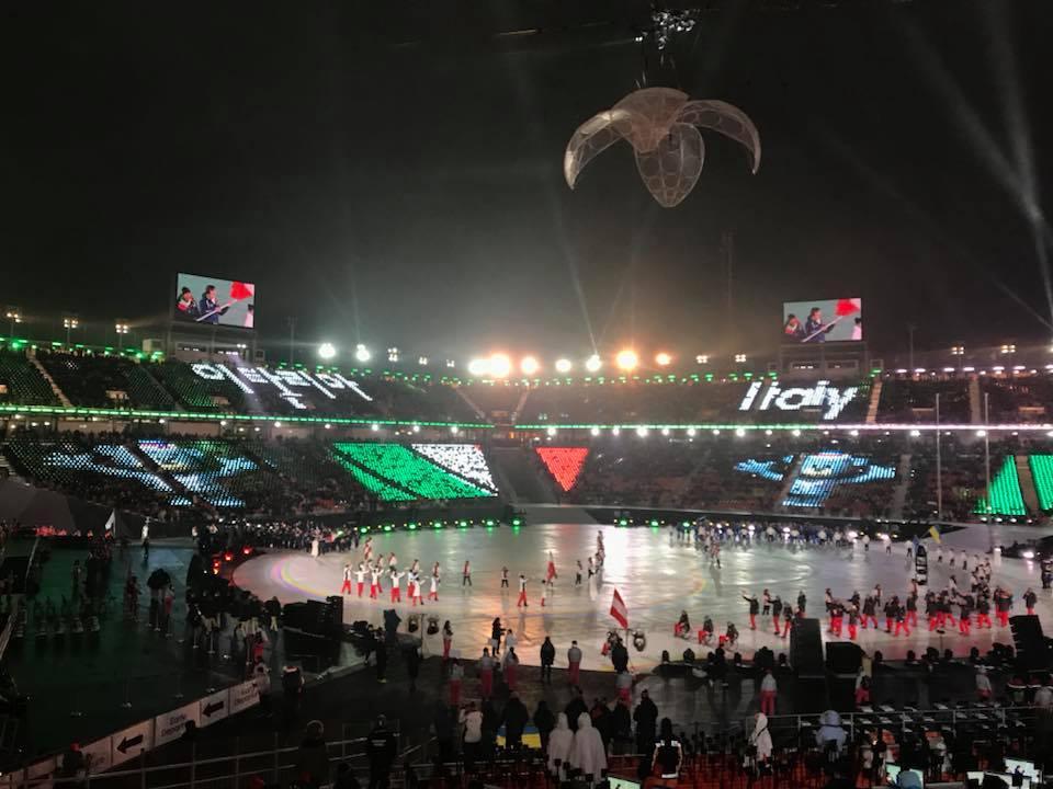 Paralimpiadi 2018, si comincia: l'Italia sfila a PyeongChang, le foto