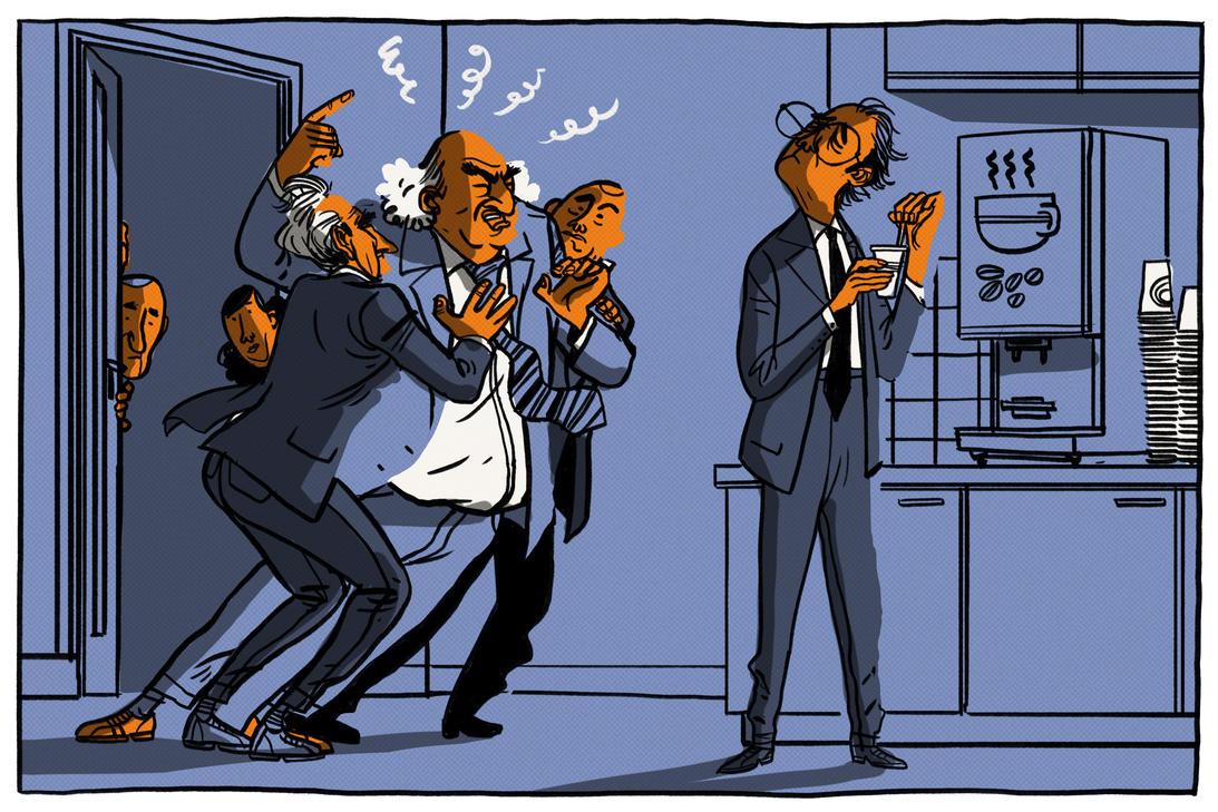 La vita d'ufficio di Mou, Mazzone, Hiddink e C.