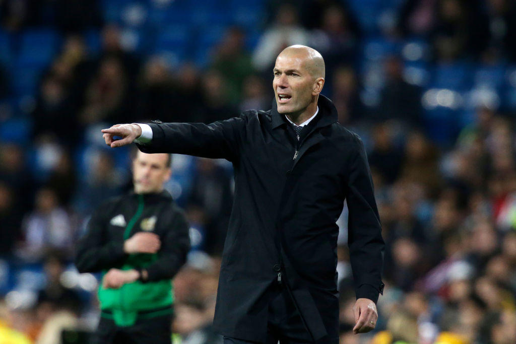 6. Zidane (Real Madrid) - 12 milioni di euro all'anno