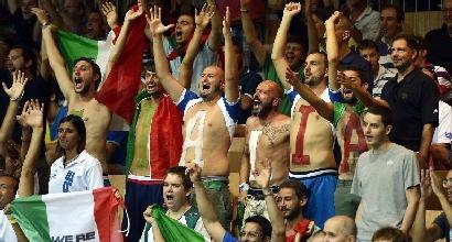 Entusiasmo per l'Italia (Afp)