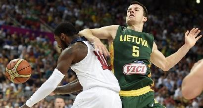 Usa-Lituania (Afp)
