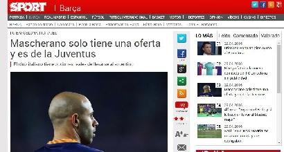 Dalla Spagna: offerta Juve per Mascherano