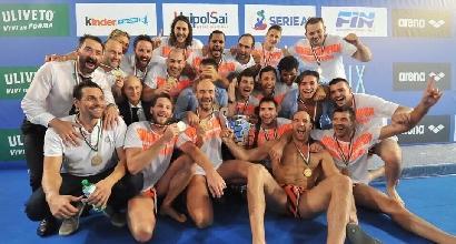 Pallanuoto:Pro Recco ancora campione d'Italia