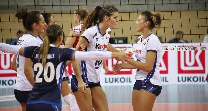 Europei di volley: l'Italia vola ai quarti