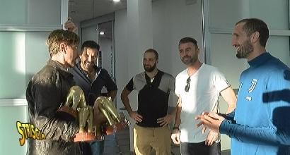 """Tapiri d'oro per la Juve, Buffon para per tutti: """"E' vero, dobbiamo migliorare"""""""