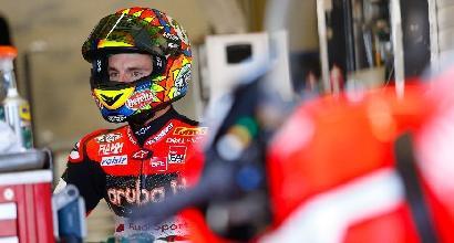 Superbike, ginocchio ko: Davies lascia i test di Jerez