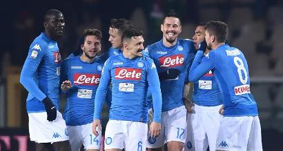 Serata da record: Napoli in vetta e Hamsik eguaglia Maradona. VIDEO GOAL