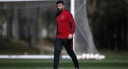Milan, la conferenza di Gattuso in diretta