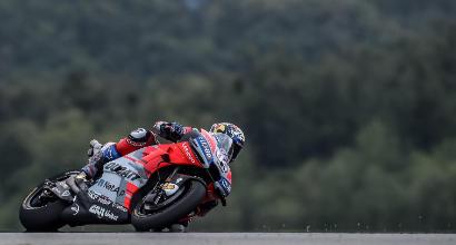 MotoGP, dominio Ducati in FP1