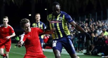 Bolt, sogno esaudito: esordio da calciatore professionista