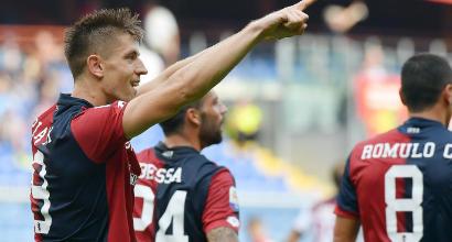 """Genoa, il capocannoniere Piatek: """"Penso solamente alla Lazio"""""""
