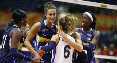 Volley, Mondiali femminili: continua la marcia dell'Italia, battuta Cuba 3-0