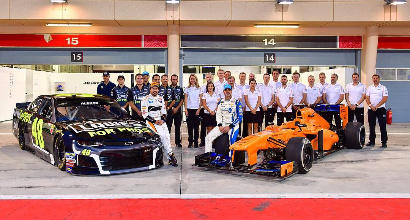 Alonso, subito una nuova sfida: test con la Nascar
