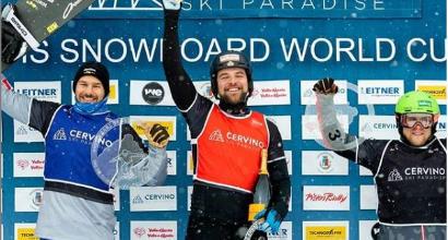 Snowboardcross: Visintin parte forte, secondo a Cervinia