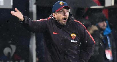 """Roma, Di Francesco: """"Non mi dimetto, deluso dalla squadra"""". Monchi chiede scusa"""