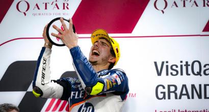 Moto2, Baldassari vince col brivido