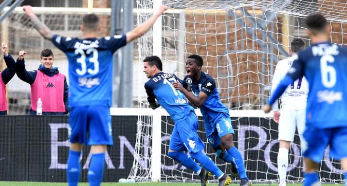 Serie A, Empoli-Fiorentina 1-0: Farias decide il derby