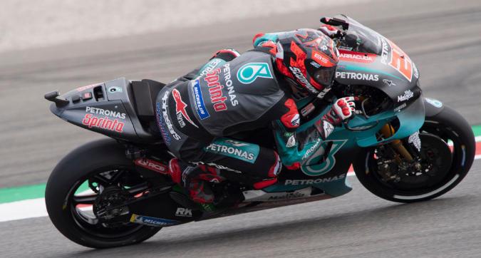 MotoGP, Quartararo vola in FP3