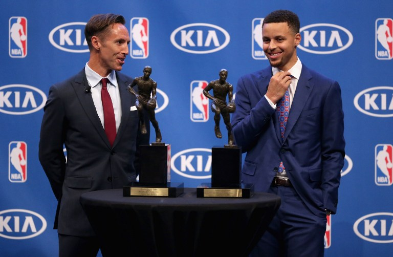 Curry, un MVP da record