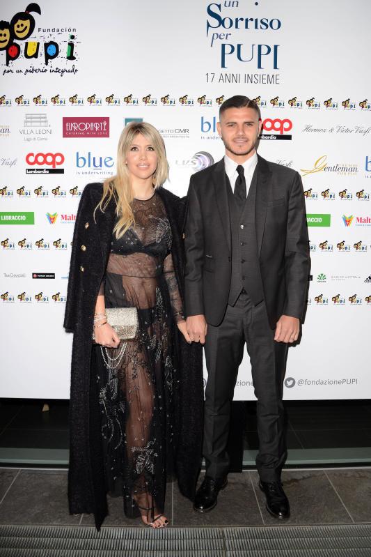 Wanda Nara hot per Icardi e... Zanetti
