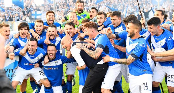 Brescia, gioia incontenibile