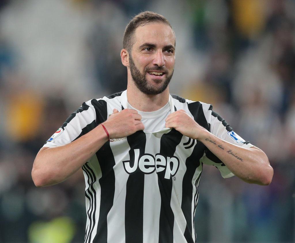 2 - Gonzalo Higuain alla Juventus (90 mln)