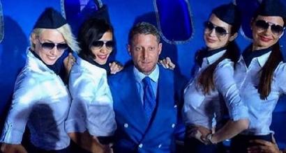 """Lapo Elkann vola con gli Azzurri: """"Tutti facciamo il tifo per l'Italia di Conte"""""""